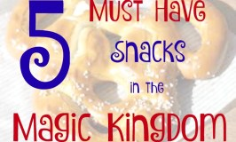 5 Must Have Magic Kingdom Snacks