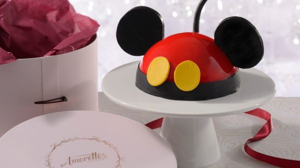 Decorate Mickey Dome Cake Amorette's Patisserie Disney Springs