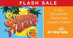 Flash Sale on Disneyland Tickets from Get Away Today!