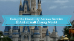 Using the Disability Access Service (DAS) at Walt Disney World