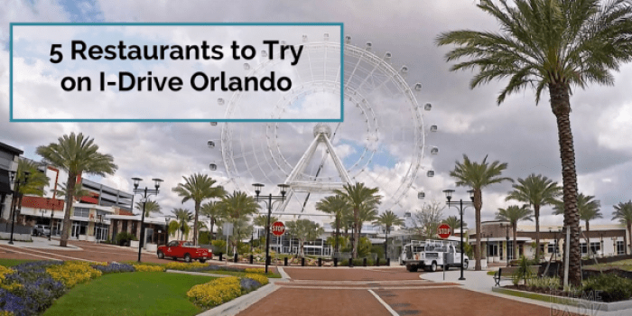 Restaurants International Drive Orlando