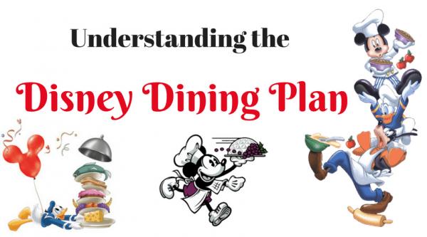Understanding Disney Dining Plan