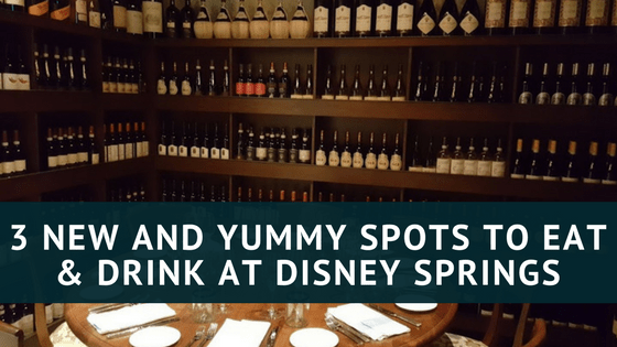 New Restaurants Disney Springs