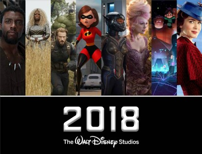 It's Going to be an Amazing Year at the Movies! 2018 Walt Disney Studios Movie Slate