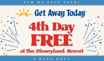 Get Away Today Fourth of July Disneyland Ticket Sale!