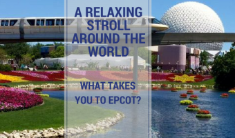 A Relaxing Stroll Through the Countries of the World – What Takes You to Epcot? A Festival? The Food?