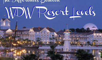 Disney Planning ~ The Differences Between WDW Resort Levels