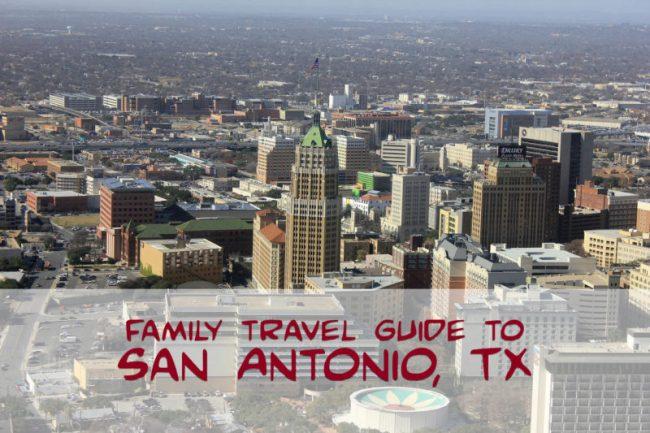 family travel san antonio