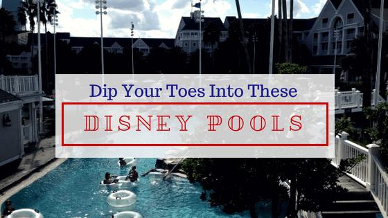 resort pools walt disney world