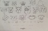 cats dogs sketch irene park an opus per diem