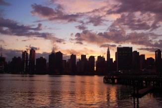 manhattan sunset skyline irene park an opus per diem