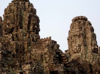 angkor thom, faces, siem reap, cambodia