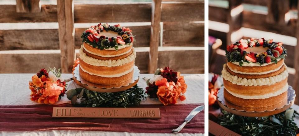 Wedding cake detail photos.