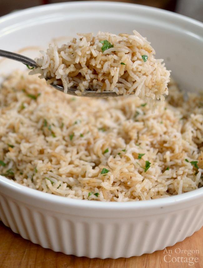 Amazingly Delicious Baked Tasty Rice
