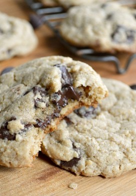 Great Whole Grain Chocolate Chip Cookies {with a Secret Ingredient}