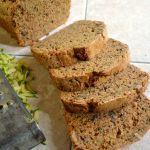 Healthy, Whole Wheat No Fail Zucchini Bread