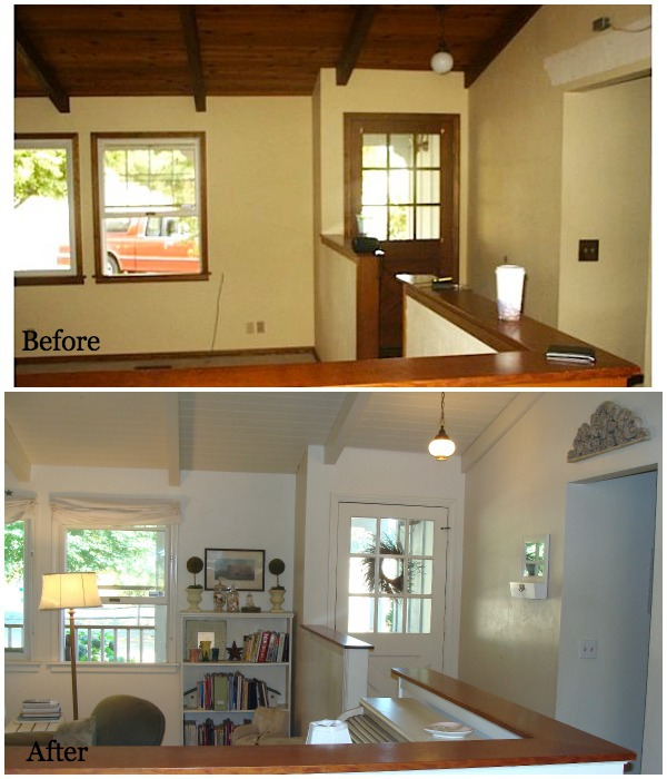 Remodeling Series Entry Before and After - An Oregon Cottage