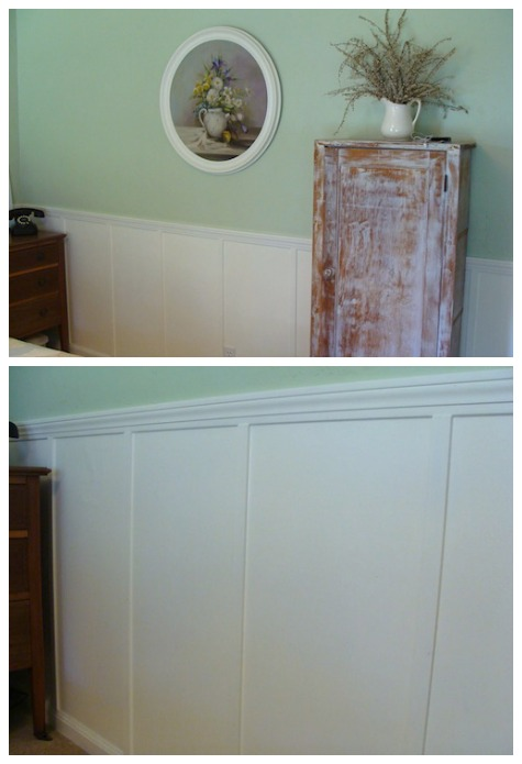 DIY Faux Board-and-Batten Panelling - An Oregon Cottage