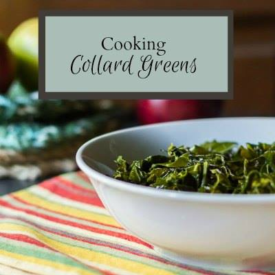 Cooking Collard Greens at Hearth and Vine