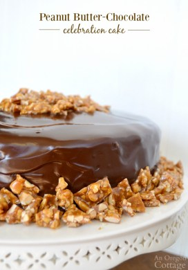 Peanut Butter Chocolate Celebration Cake