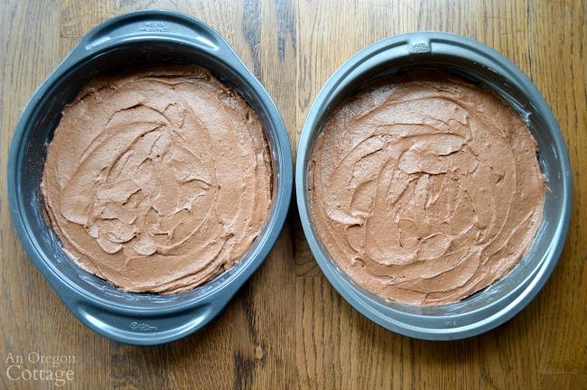 Peanut Butter Chocolate Celebration Cake