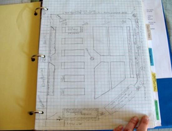 Organizing garden paperwork2