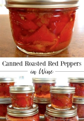 Canned Roasted Red Peppers In Wine Recipe & Tutorial