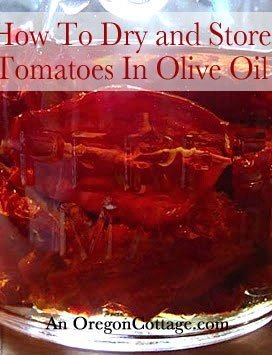 How To Dry And Store Tomatoes In Olive Oil: The Video