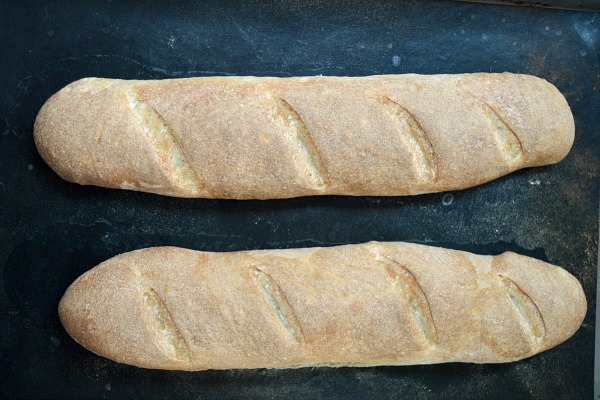 Baked Easy French Baguettes
