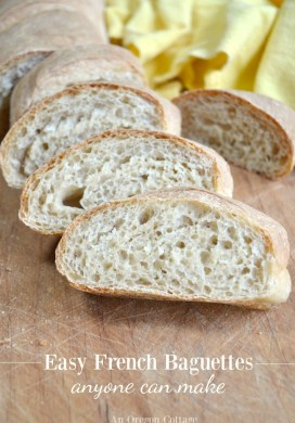 Tutorial: Simple French Baguettes Recipe {or The Bread You Can't Stop Eating}