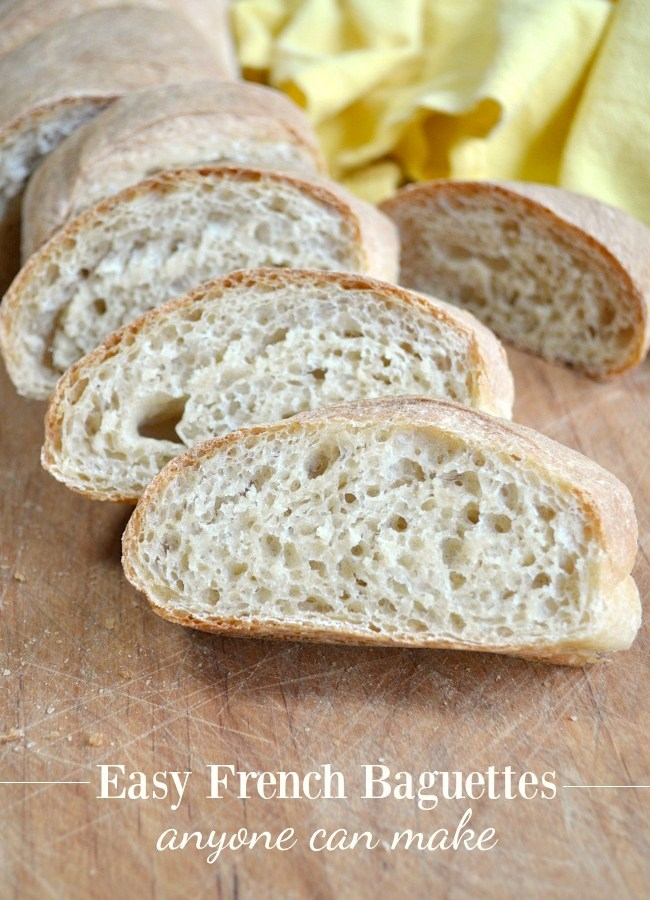 Easy French Baguettes anyone can make