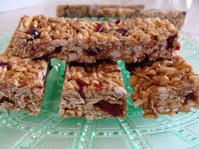 no-bake granola bar