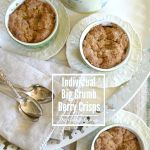 Make Individual Berry Crisps with a big crumb topping - I know it will become your favorite