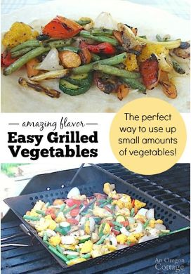 Easy Grilled Vegetables – A Perfect Warm Weather Side Dish