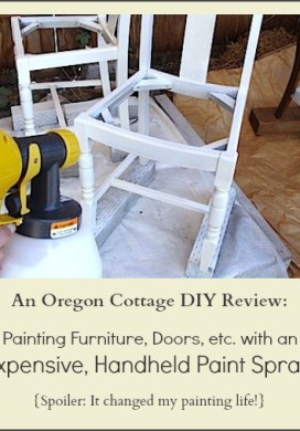 Painting With An Inexpensive Handheld Paint Sprayer