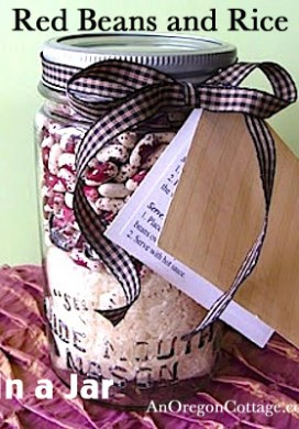 Red Beans And Rice: Gift In A Jar