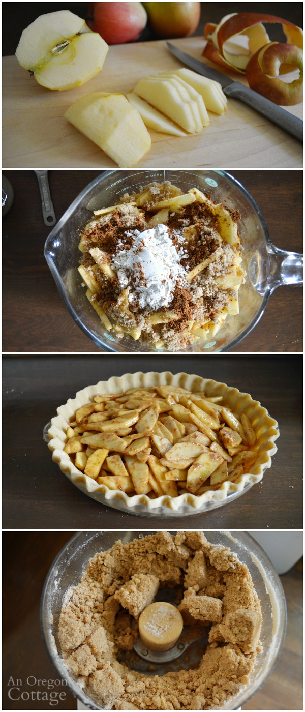 Crumb-Topped Apple Pie {Bake Now or Freeze for Later}
