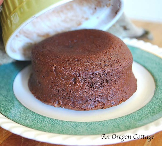 Quick & Easy Lava Cake - An Oregon Cottage