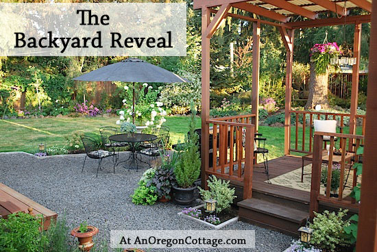 backyard reveal