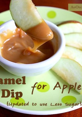 Homemade Caramel Dip for Apples – Updated To Use Less Sugar