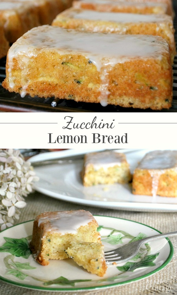 Make Zucchini Lemon Bread for a refreshingly delicious different type of zucchini bread.