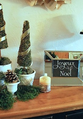 Christmas Decor Frame Addition