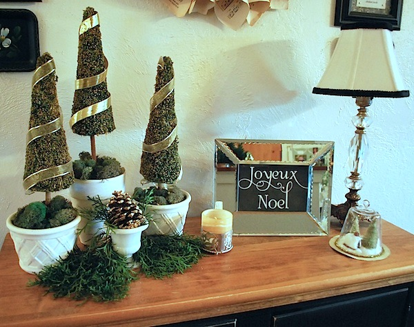 Entryway Christmas Decorations