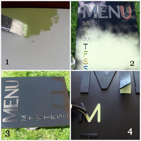 Canvas Menu Steps