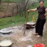 Making Flia {A National Dish of Kosovo}