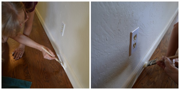 Painting trim without tape
