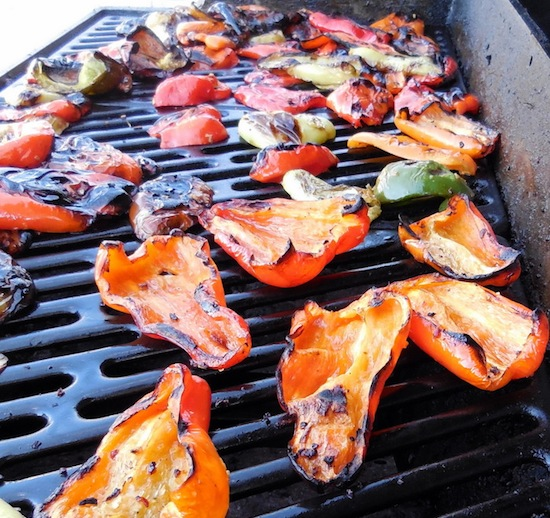 fire-roasted peppers