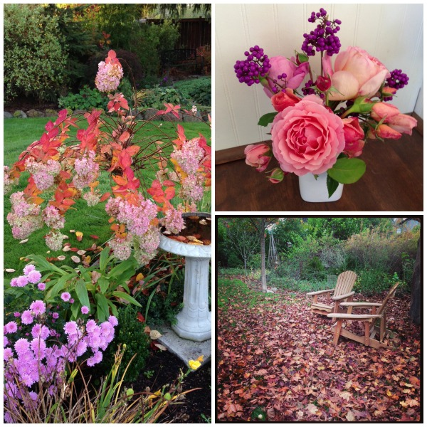 Fall 2013 Garden Collage :: An Oregon Cottage