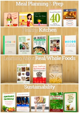 Menu Planning, Cooking & Gardening eBooks for My Reading List