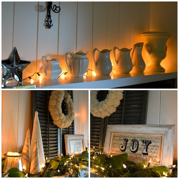 mantel lighting. greenwhite christmas mantel lights an oregon cottage lighting t